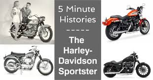 5 minute histories harley davidson sportster ebay