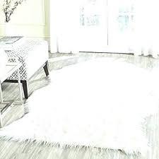 sheepskin area rug brilliant faux fur home rugs ideas in white throw 5x7