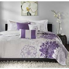 Size California King Quilts & Bedspreads For Less | Overstock.com & Madison Park Bridgette Purple 6-piece Coverlet Set Adamdwight.com