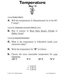 Thermometer Worksheets 2nd Grade - Checks Worksheet