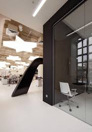 Image Interior Design Image Courtesy Alexey Knyazev Aeccafe Archshowcase Leo Burnett Moscow In Russia By Nefa Architects