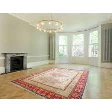 7 x 9 persian kilim rug made of pure silk shamlu pattern bohemian