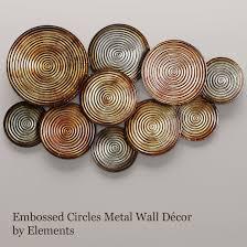 circles wall decor 2 3d model max obj fbx mtl unitypackage 1