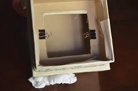 diy wedding card box tutorial andrea lynn handmade winter