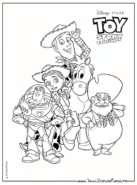 Released in 1995, it tells the stories of a bunch of toys at the forefront of which woody the cowboy and buzz lightyear straight. Pin By Angela Packard On Toy Story Toy Story Coloring Pages Disney Coloring Pages Coloring Books