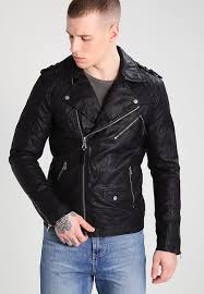 river island bellini faux leather jacket black m13r7 for mens