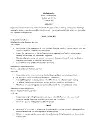 Telemetry Nurse Resume New 60 Ideal Telemetry Nurse Resume De O60 Resume Samples