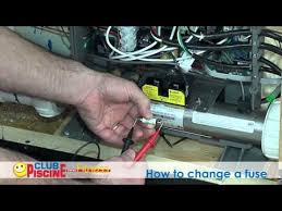 how to change a fuse spas