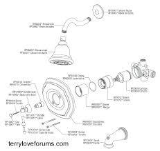 american standard shower faucet parts shower faucet parts diagram valve repair tub and throughout glacier bay