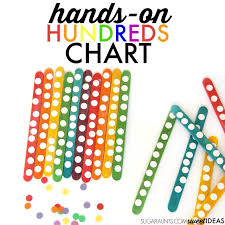 Rainbow Chart Work Rainbow Math Popsicle Stick Hundreds Chart The Ot Toolbox
