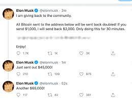 Tesla Motors, Inc. (NASDAQ:TSLA), Twitter (NYSE:TWTR) - Elon Musk, Bill  Gates, Apple, Other Major Twitter Accounts Hacked By Bitcoin Scammers