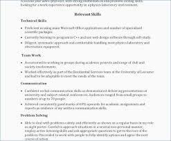 Resume Keywords Fascinating Relevant Skills For Resume Elegant Resume Keywords And Phrases