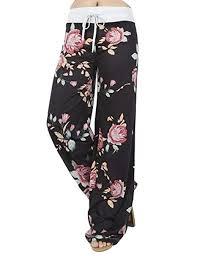 Assivia <b>Womens</b> Wide Leg <b>Yoga</b> Palazzo <b>Pants</b> Casual <b>Printed</b> ...