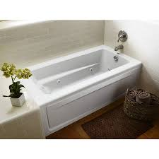 Bathtubs Idea, Cool Rectangular Jacuzzi Tubs Creative Home Ideas With  Flowers And Faucet And Mat