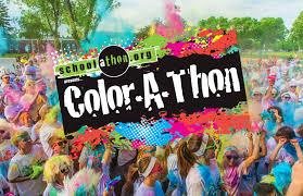 Color A Thon By Schoolathon Color Run Fundraiser Event