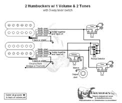 humbuckers 3 way lever switch 1 volume 2 tones 2 humbuckers 3 way lever switch 1 volume 2 tones