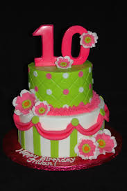 Cake Designs For 10th Birthday Girly 10th Birthday Cakecentral Com