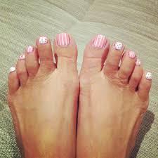 Cute Simple Toe Designs Pretty Cute Toe Nail Design Summer Toe Nails Cute Toe