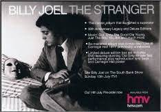 In 1977, billy joel released his album titled the stranger. Billy Joel The Stranger Mini Poster Stick It On Your Wall