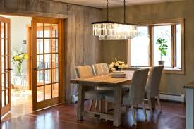wooden dining room chandeliers