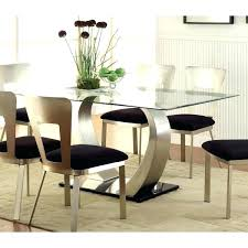 Glass top dining sets Seater Glass Top Dining Table Set Chairs Glass Top Dining Table Furniture Of Sculpture Ii Contemporary Daleslocksmithcom Glass Top Dining Table Set Chairs Glass Dining Room Tables And