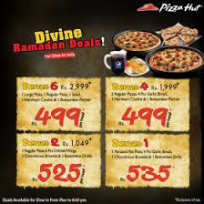 pizza hut menu 2015. Beautiful Pizza Pizza Hut Iftar Deals Price U0026 Menu 2015 Ramadan With Z