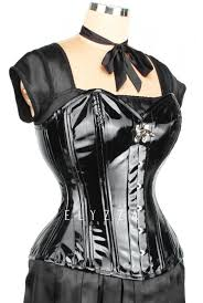 waist training pvc overbust corset elc 301