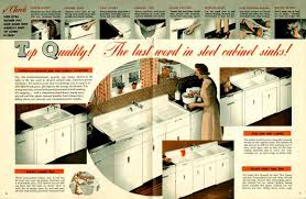 Old Metal Kitchen Cabinets Vintage 1941 Montgomery Ward Metal Kitchen Cabinets Retro Renovation