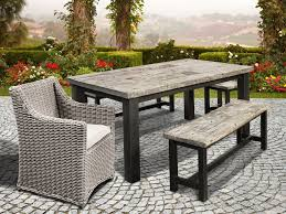 rustic outdoor dining table. Rustic Outdoor Dining Bench Table I