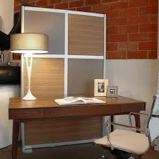 office room dividers. Perfect Dividers 4u0027 Modern Room Divider Zebrano Wood Laminate Modernhomeoffice On Office Dividers
