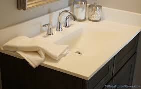 onyx collection vanity top with integrated bowl in a bettendorf ia home design and