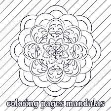 Kleurplaten Voor Volwassenen En Oudere Kinderen Schilderij Mandala