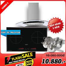 Combo 5: Bếp từ KAFF KF-FL366II và Máy hút mùi KAFF KF-GB-785N