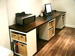 furniture modern diy work desk design ideas hovering diy work desk with built in desk