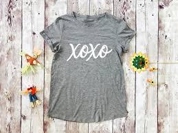 Xoxo Shirt Xoxo T Shirt Xoxo Tee Crewneck Shirt Xoxo Gossip Girl Shirt Love Shirt