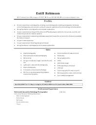 Freelance Photographer Resume Custom Photography Resumes For Photographers Freelance Photographer Resume