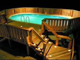 Pool Decks For Above Ground Pools YouTube