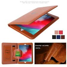 for ipad pro 11 12 9 2018 genuine leather smart ultrathin cover case for ipad mini1234 air air2 pro10 5 pro9 7 ipad 234 ipad pro12 9 2017 2 tablet with case
