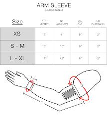 Sleeve Chart Phone Arm Sleeve