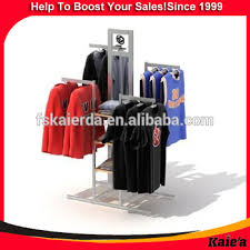 T Shirt Display Stand Portable Tshirt Floor Display StandMetal Tshirt Display Stand 48