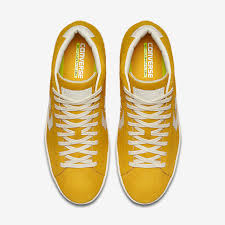 mens converse pro leather vintage suede shoes yellow powered by magic zoom