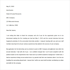 Second Interview Thank You Letter Samples Letter Of Recommendation