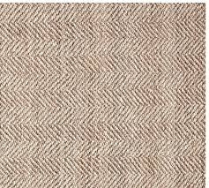 chevron wool jute rug swatch