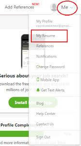 How Do I Upload My Resume Into The Resume Database Without Applying