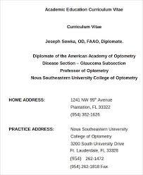 Curriculum Vitae Examples For Undergraduates 33 Curriculum Vitae