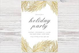 Formal Christmas Party Invitations Free 55 Party Invitation Designs Examples Psd Ai Eps