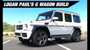 2018 lamborghini performante jake paul. contemporary lamborghini logan paulu0027s mercedes g wagon build  forza horizon 3 for 2018 lamborghini performante jake paul