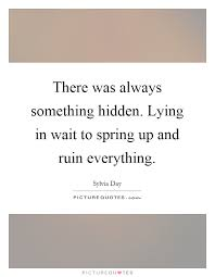 Something Hidden Quotes