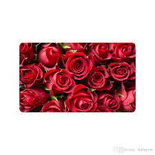 valentine s day gifts presents red roses doormat entrance mat floor mat rug indoor outdoor front door bathroom mats rubber non slip carpet one locations
