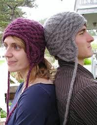 Earflap Hat Knitting Pattern